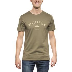 Fjällräven Trekking Equipment t-shirt Heren olijf